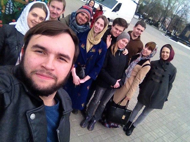 Молодежь Михайло-Архангельского храма посетила колокольню Благовещенского собора и приняла участие в собрании благочиния