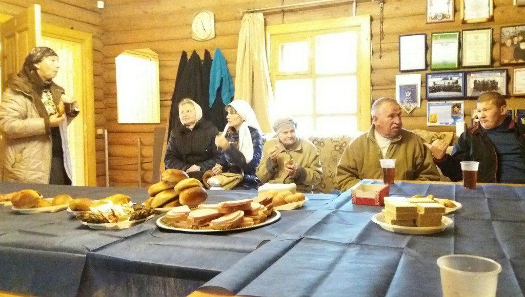 День пожилых людей на приходе Михайло-Архангельского храма