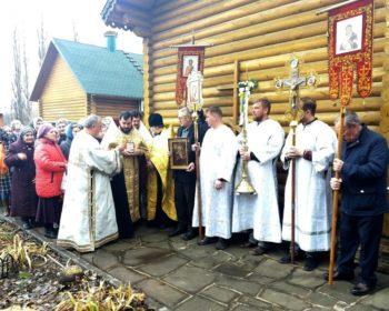 Прихожане Михайло-Архангельского храма встретили престольный праздник