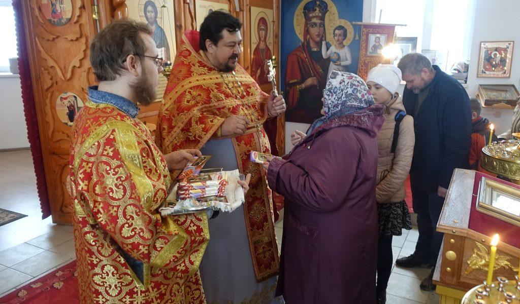 Престольный праздник храма во имя св. вмц. Анастасии с.Костёнки