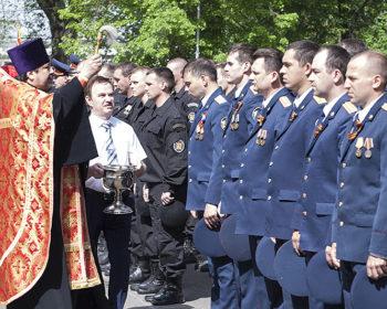 Торжественное мероприятие в УФСИН России по Воронежской области, посвященное Дню Победы