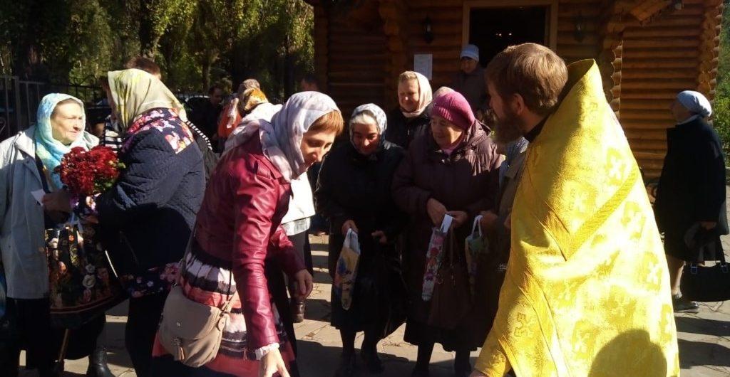 День пожилого человек в храме во имя св. Архистратига Михаила